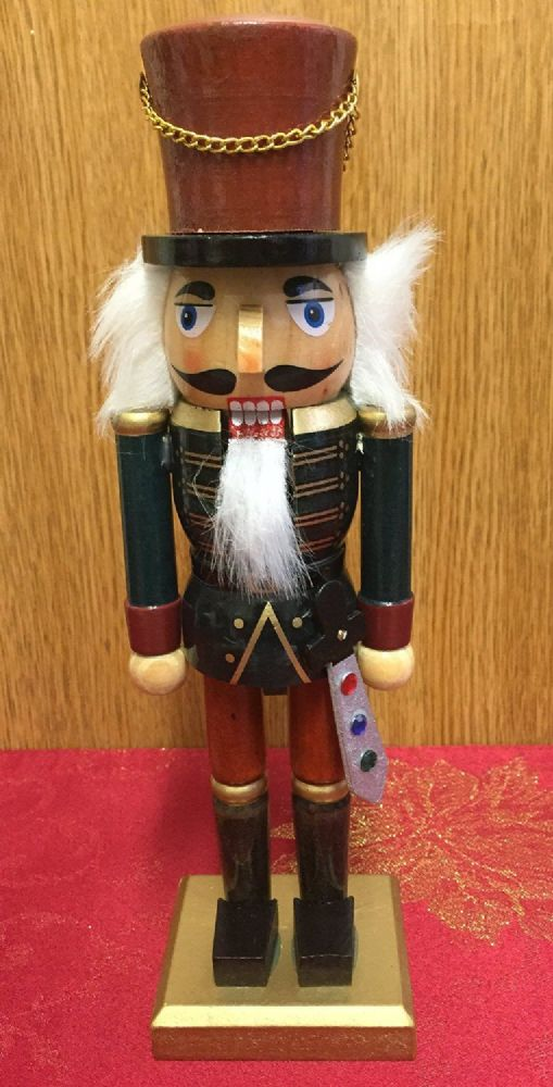 Hand Painted Wooden Nutcracker Traditional Christmas